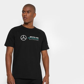 Compre Camisa Mercedes Benz Puma Online  8c089ada2d8ad