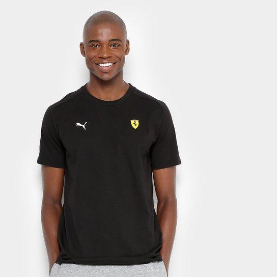 Camiseta Puma Scuderia Ferrari Small Shield Masculina - Compre Agora ... 1f5f66a96d9