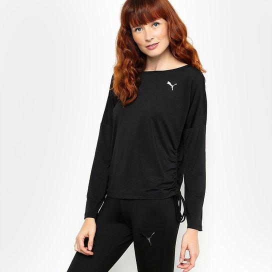 a69c515d8 Camiseta Puma Transition Light Cover Up M/L Masculina - Preto | Netshoes