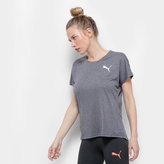 972dc49506 Camiseta Puma Active Essential Mesh Heather Feminina - Compre Agora ...