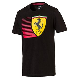 bc0290a5ea Camiseta Puma Scuderia Ferrari Big Shield Tee Masculina