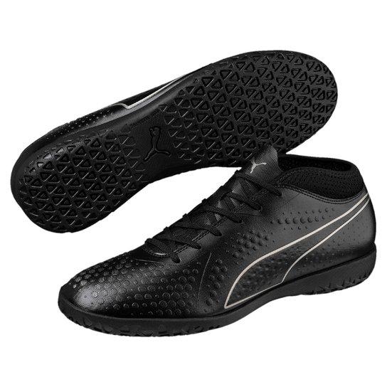 Chuteira Futsal Puma One 4 Syn IT BDP - Preto - Compre Agora  cbf5a67ee68cf