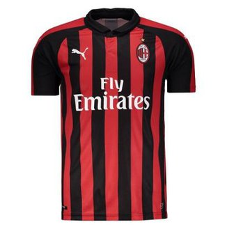 Camisa Milan Home 2018 s n° - Torcedor Puma Masculina 2a1bfd3c8d9d6