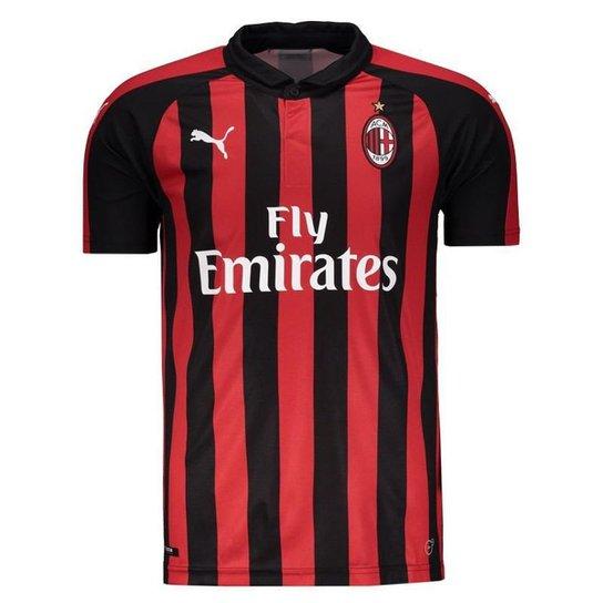 6c54699ec Camisa Milan Home 2018 s n° - Torcedor Puma Masculina - Compre Agora ...