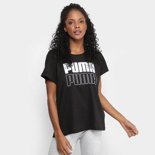 Camiseta Puma Modern Sport Graphic Feminina - Compre Agora  308a9e978fdd0
