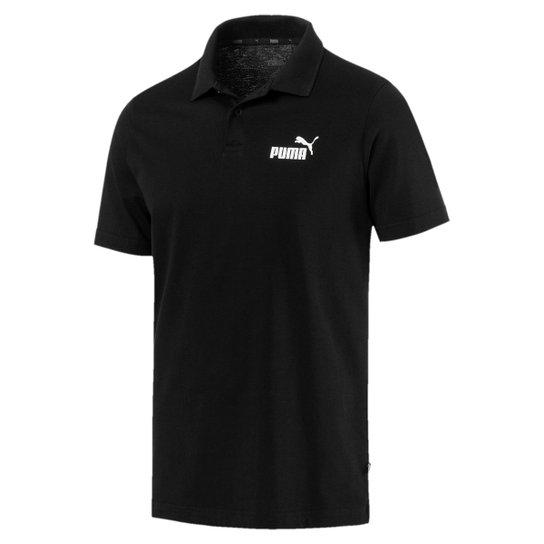 97afd6268b Camisa Polo Puma ESS Jersey Masculina - Preto - Compre Agora
