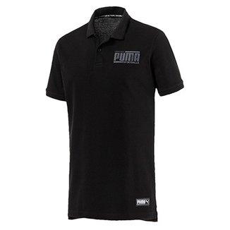 Camisa Polo Puma Athletics Masculina e0c3ddf62b515