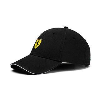 25c3288c1 Boné Puma Aba Curva Ferrari Fanwear Baseball