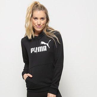 b91ce7b7f5040 Moletom Puma Essentials Logo Hoody Feminina