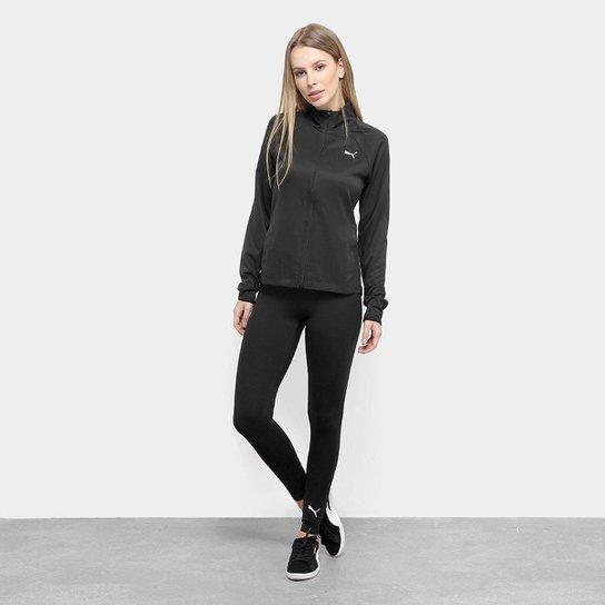 12bb2007135 Agasalho Puma Yoga Inspired Suit Feminino - Preto - Compre Agora ...
