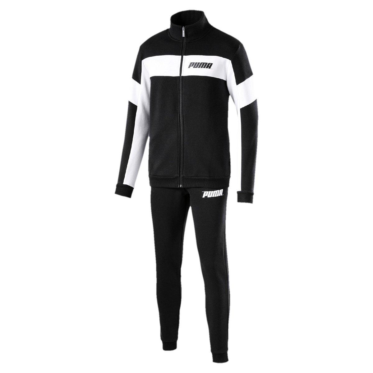 37bea1f9c Agasalho Puma Rebel Sweat Suit Masculino