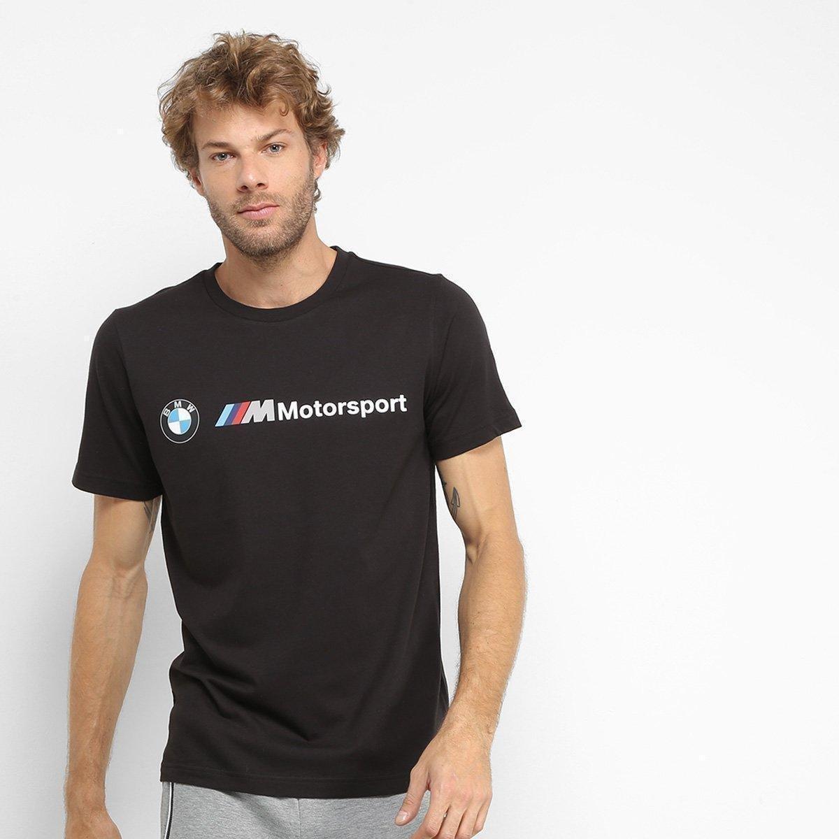 Camiseta Puma Bmw Motorsport Logo Masculina
