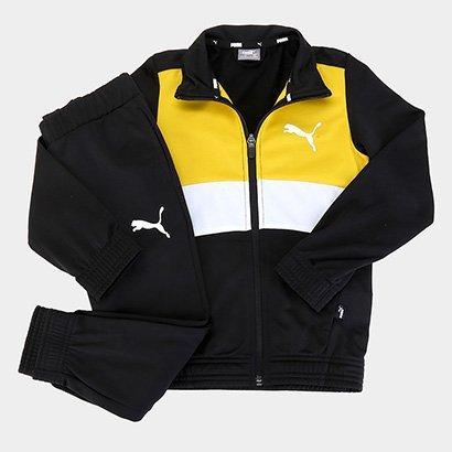 Conjunto Agasalho Infantil Puma Poly Suit Masculino