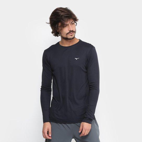 f6de784c03576 Camiseta Mizuno Jet Run Manga Longa Masculina - Compre Agora
