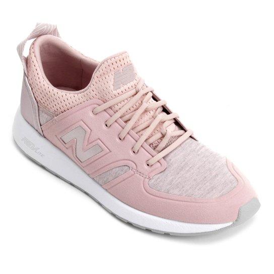 8fdd6d76af9 Tênis New Balance W 420 Feminino - Rosa e Branco - Compre Agora ...