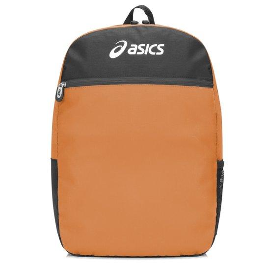 8b08d3886 Mochila Asics Ripstop Backpack - Laranja e Preto | Netshoes