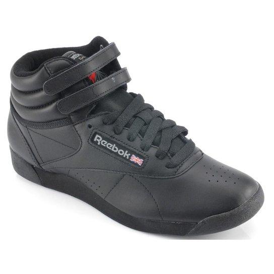 c3fc0c64bd7 Tênis Reebok Freestyle Hi Preto 2240 - Compre Agora
