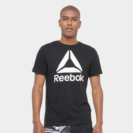 Camiseta Reebok Stacked Logo Masculina - Compre Agora  432afaecf5af