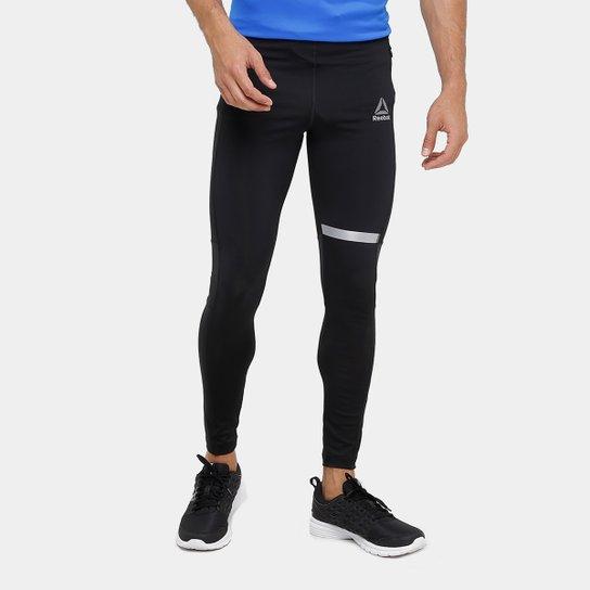 Calça Legging Reebok Re Masculina - Preto - Compre Agora  2d18425abbe76