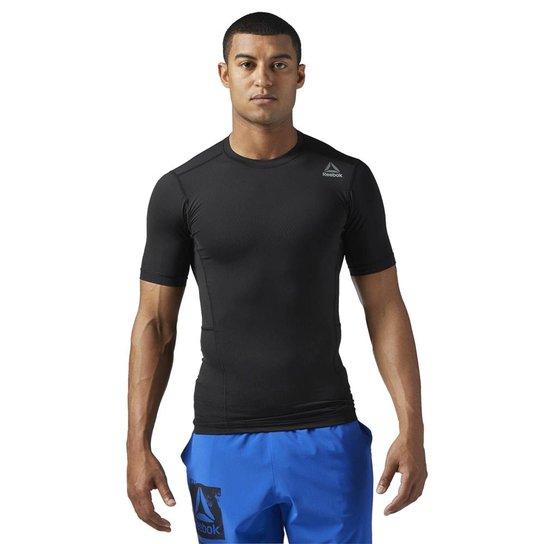 26c3e6c153620 Camiseta Reebok Wor Compressão Masculina - Compre Agora