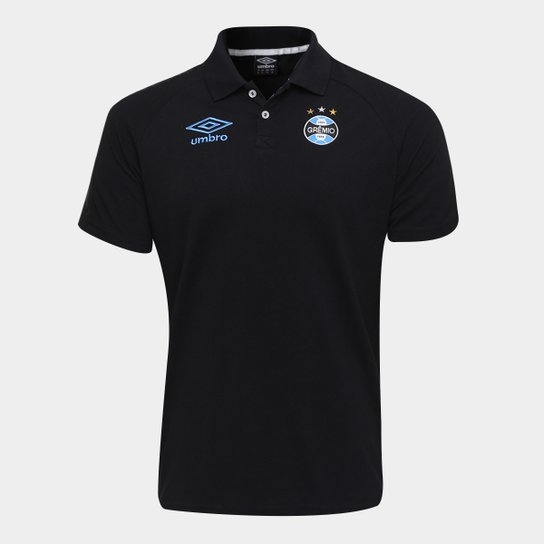 Camisa Polo Grêmio Umbro Viagem 17 18 Masculina - Compre Agora ... 9c388b9a105e2