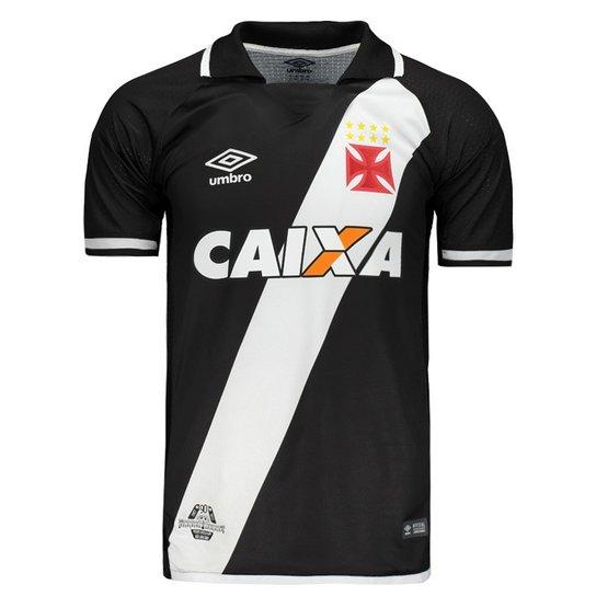 8d75c8d462cc6 Camisa Umbro Vasco I 2017 Jogador com Patrocínio - Compre Agora ...