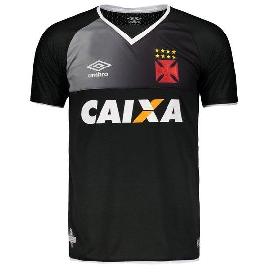 Camisa Umbro Vasco Goleiro 2017 N° 1 - Preto - Compre Agora  7903d75a889e5