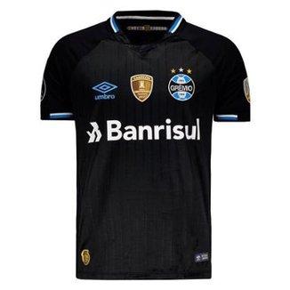 972041109e8c9 Camisa Umbro Grêmio III 2018 Libertadores Masculina