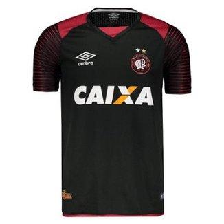 Camisa Umbro Atlético Paranaense Goleiro 2017 Masculina 1c9ebe26b8331