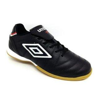 Chuteira Futsal Umbro Speciali Premir Indoor Couro Masculina 00889c3b1b287