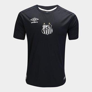 cc6b22107ea49 Camisa de Goleiro Santos II 2019 Torcedor Umbro Masculina