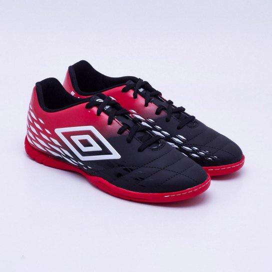 9fc858f2e9 Chuteira Futsal Umbro Fifty IIMasculina - Preto