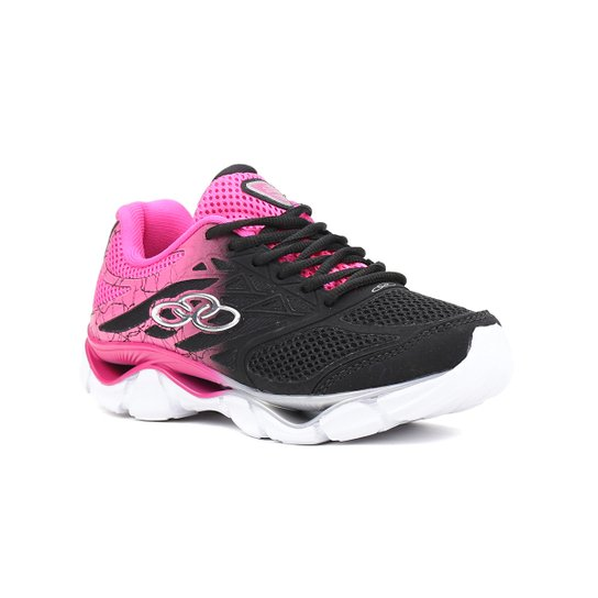 b38b6a65ae Tênis Esporte Feminino Olympikus Daily Preto rosa - Compre Agora ...