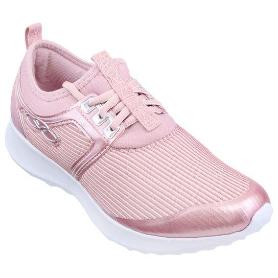 7cb539ef73e Tênis Olympikus Dream 335 - Rosa e Branco - Compre Agora