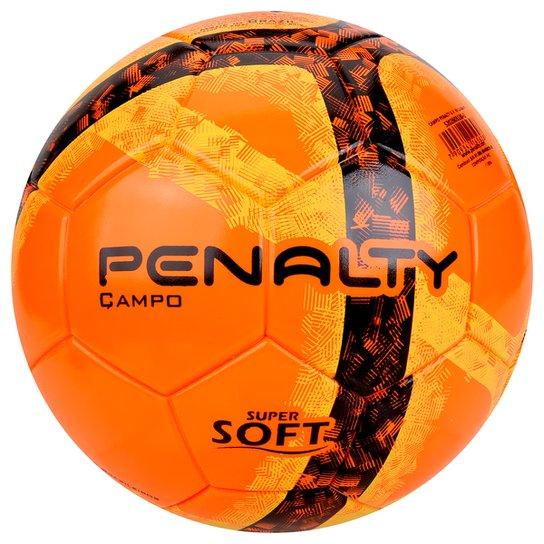a3624ebd5f Bola Futebol Campo Penalty Ultra Fusion 7 - Laranja e Preto - Compre ...
