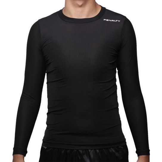 e3db89a3a5 Camisa Térmica Penalty Matis Vi 16 - Preto - Compre Agora