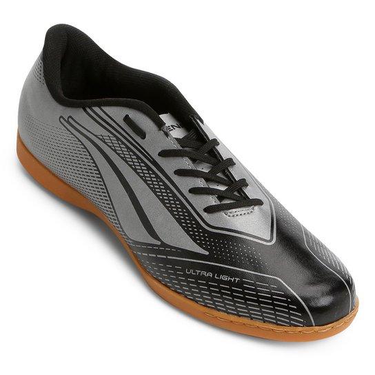 Chuteira Futsal Penalty Storm Speed 7 Masculina - Preto - Compre ... 77a07e10a0fe9