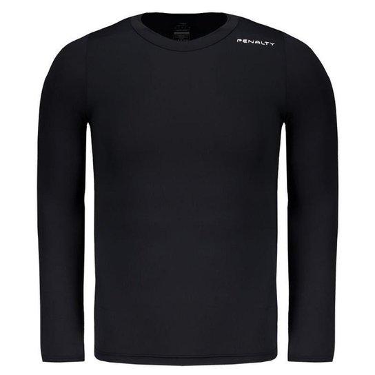 Camisa Térmica Penalty Matís Manga Longa Masculina - Preto - Compre ... 62ccf6d39c3f1