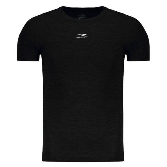 Camisa De Compressão Penalty Max Flex UV 50 Masculina - Preto ... 9b0a724b5aeb3