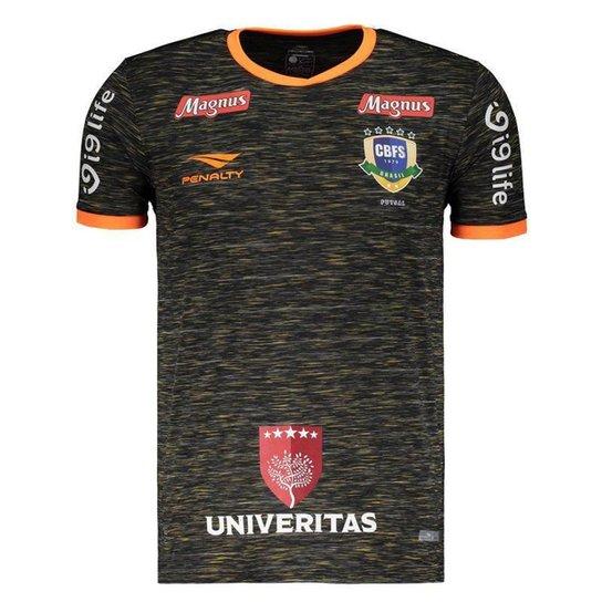 d31af55a5a Camisa Penalty Brasil CBFS Futsal Goleiro III Masculina - Compre ...