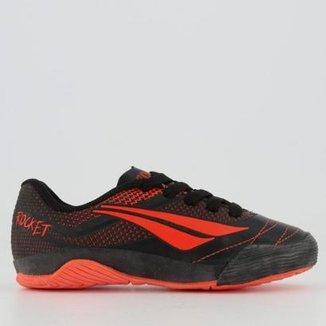 Chuteira Futsal Infantil Penalty Rocket VII bace4c8541839