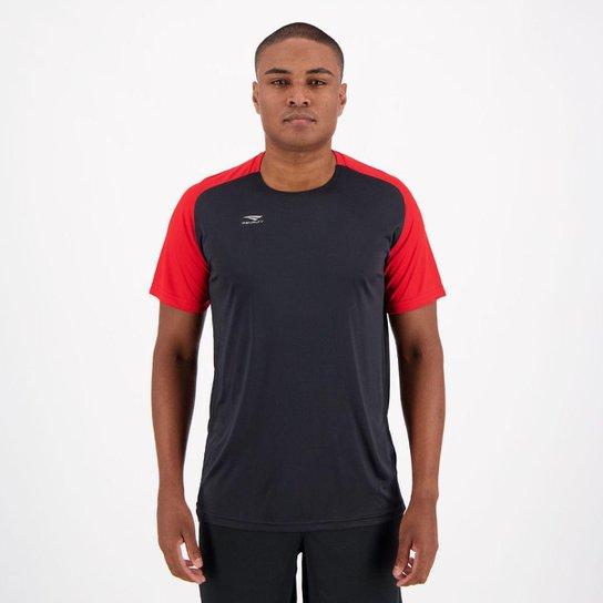 93acda5b07e5d Camisa Penalty Speed IX Preta e Vermelha - Preto - Compre Agora ...