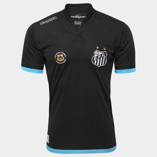 f7974cf38b Camisa Santos Goleiro I 2016 s nº Torcedor Kappa Masculina - Compre ...