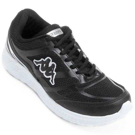 6f3d02fe14e3d ... 4f0d6a95bae Tênis Kappa Vêneto Masculino - Preto e Branco - Compre  Agora Netshoes ...