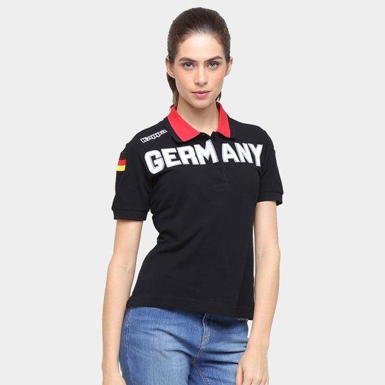 b5d7228ba7 Camisa Polo Kappa Eroi Lady Alemanha - Compre Agora