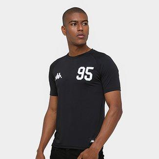 Camiseta Kappa Futebol Americano Oakland Kombat Masculina 14d38d142d