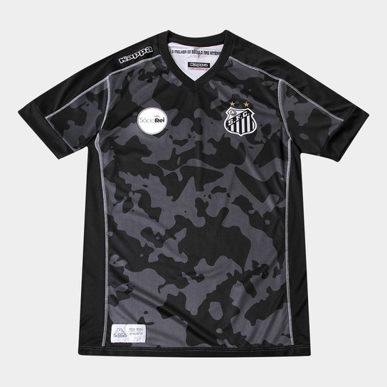 982ae83f69 Camisa Santos Juvenil III 17 18 s n° - Torcedor Kappa - Compre Agora ...