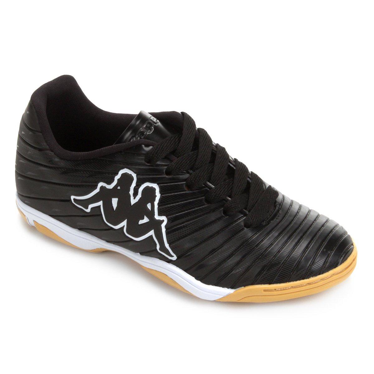 fcec6a93a0 Chuteira Futsal Infantil Kappa Thunder