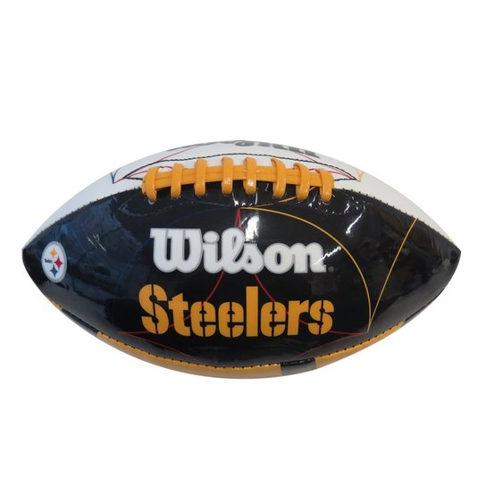 22b0996e4 Bola Futebol Americano Wilson Nfl Pittsburgh Steelers - Compre Agora ...