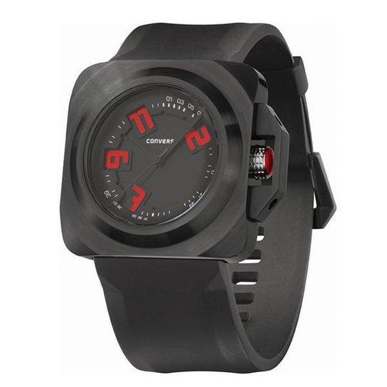 17cabeab5f5 Relógio de Pulso CONVERSE Overtime - Preto - Compre Agora